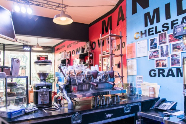 Sprudge-FirstLiveCoffeeHouse-RobertWolcheck-FirstLive_Coffee_Counter_Slayer-1-740x494